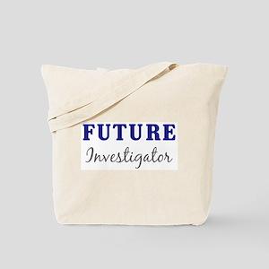 Future Investigator Tote Bag