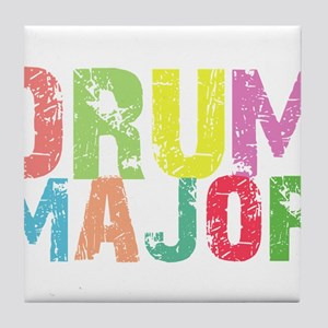 Drum Majors Tile Coaster