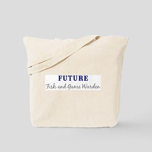 Future Fish and Game Warden Tote Bag