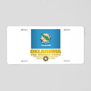 Oklahoma Flag Aluminum License Plate
