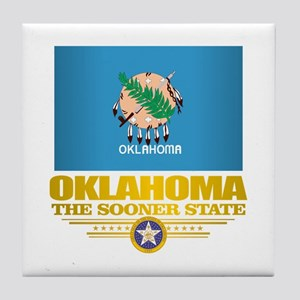 Oklahoma Flag Tile Coaster