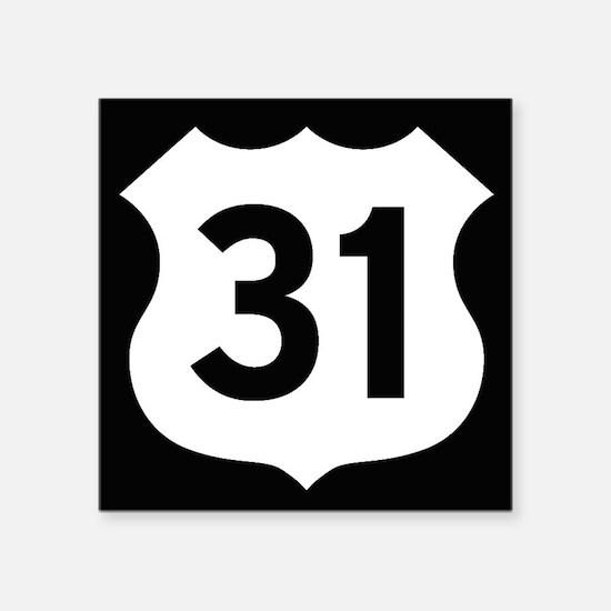 US 31 Highway Shield Sticker