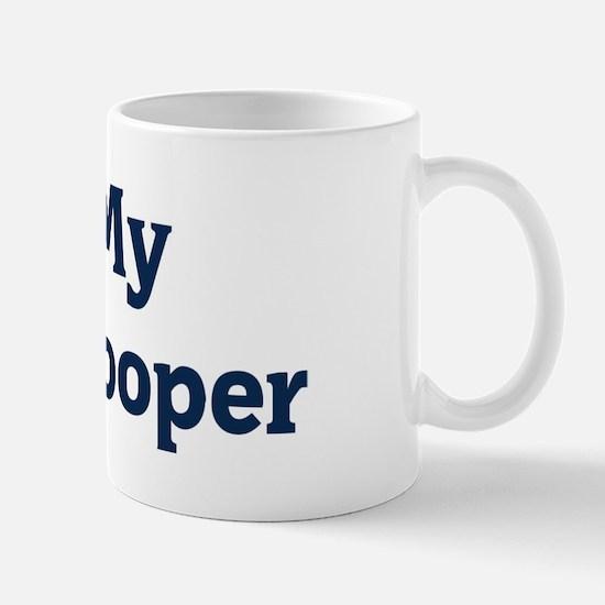 I Love My State Trooper Mug