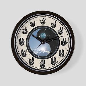 sun-moon Wall Clock