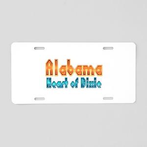 Alabama Heart of Dixie Aluminum License Plate