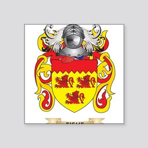 Fishe Coat of Arms Sticker
