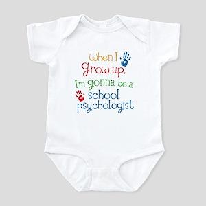 Future School Psychologist Infant Bodysuit