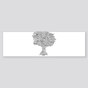 Goddess Tree Sticker (Bumper)