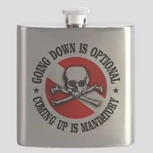 Going Down Is Optional Flask