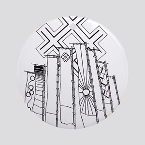 japan-banners Ornament (Round)