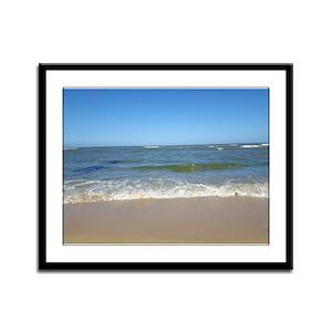 Punta Cana Beach Framed Panel Print