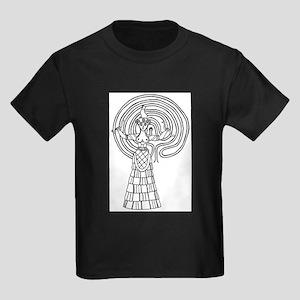 Crete Goddess Kids Dark T-Shirt