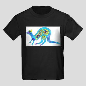 kangaroo-crop-c1 Kids Dark T-Shirt