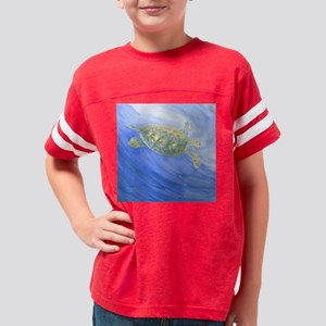 Sea Turtle Deep Sea Youth Football Shirt