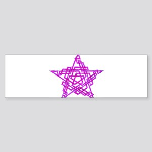 pentagram2 Sticker (Bumper)