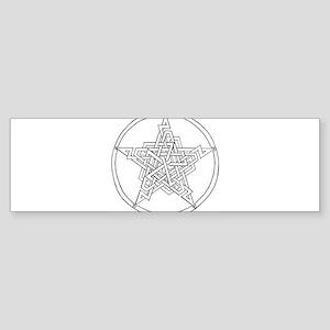pentagram3 Sticker (Bumper)