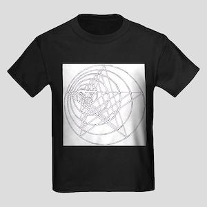 growing-pentagram Kids Dark T-Shirt