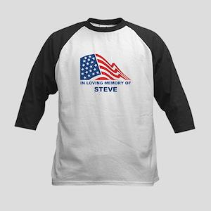 Loving Memory of Steve Kids Baseball Jersey