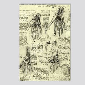 Anatomy of Human Hand by Postcards (Package of 8)
