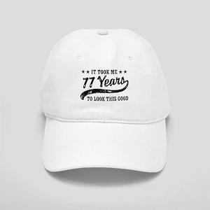 Funny 77th Birthday Cap