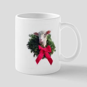 Ewephoric Christmas Lamb Mug