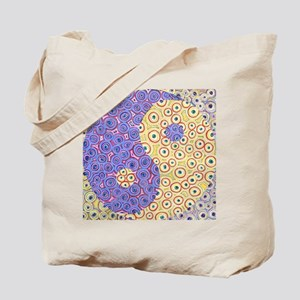 Yin Yang Eyes Tote Bag