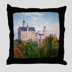 Neuschwanstein Throw Pillow