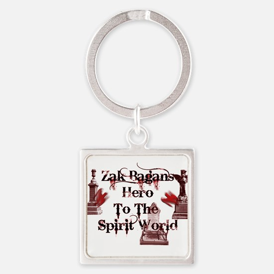 Ghost Adventures Square Keychain