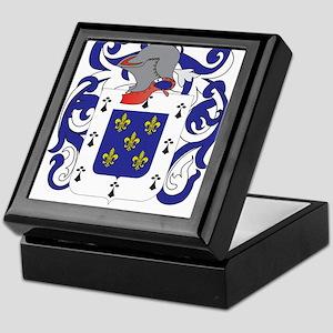 Flores Coat of Arms Keepsake Box