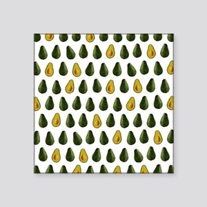 Avocado Pattern Sticker