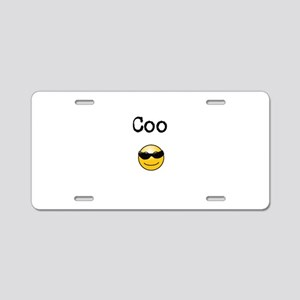 Coo-Cool Aluminum License Plate