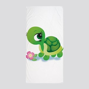 Toshi the Turtle Beach Towel