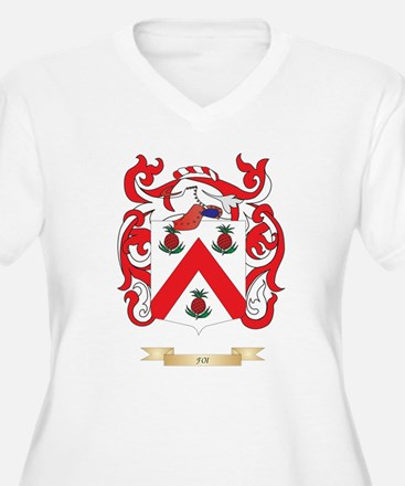 Foi Coat of Arms Plus Size T-Shirt
