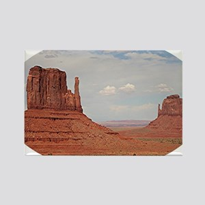 Monument Valley, Utah, USA (oval) Rectangle Magnet