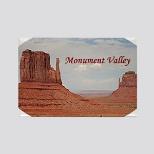 Monument Valley, Utah, USA (oval  Rectangle Magnet