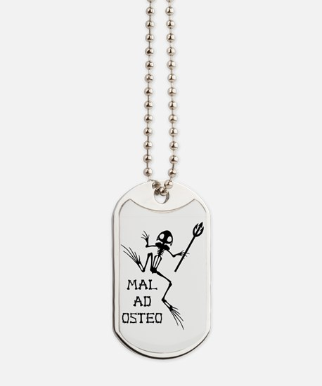 Desert Frog w Trident - MAO Dog Tags