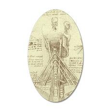 Spinal Column by Leonardo d Wall Decal