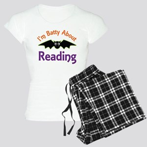 Batty About Reading Women's Light Pajamas
