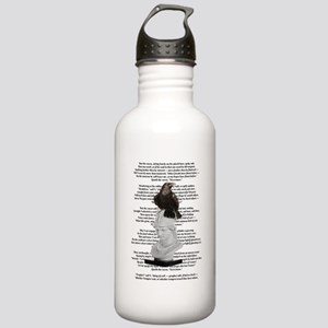 Edgar Allen Poe The Raven Poem Water Bottle