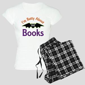Batty About Books Women's Light Pajamas