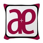 B and L Woven Throw Pillow