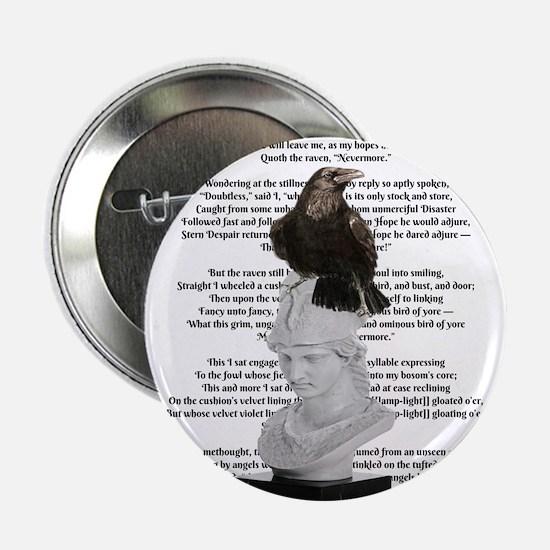 """Edgar Allen Poe The Raven Poem 2.25"""" Button"""
