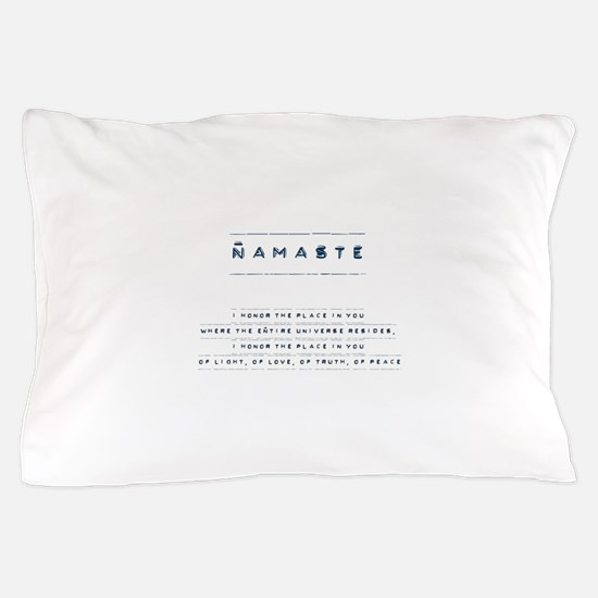Namaste Pillow Case