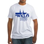 WKLO Louisville 1973 -  Fitted T-Shirt