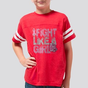 BC-Fight-Like-A-Girl-2-blk Youth Football Shirt