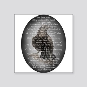 Edgar Allen Poe The Raven Poem Sticker