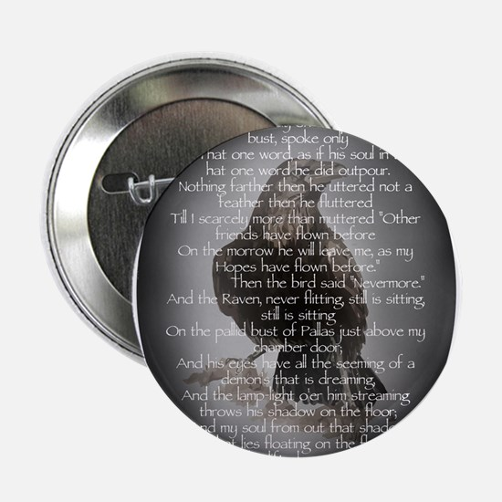 "Edgar Allen Poe The Raven Poem 2.25"" Button"