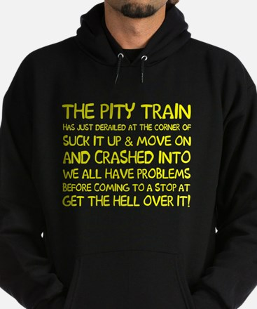 The pity train Hoodie (dark)