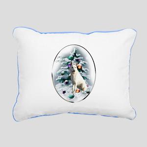 White German Shepherd Ch Rectangular Canvas Pillow