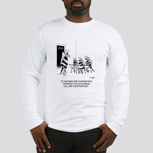 Bees in Sex Ed Long Sleeve T-Shirt